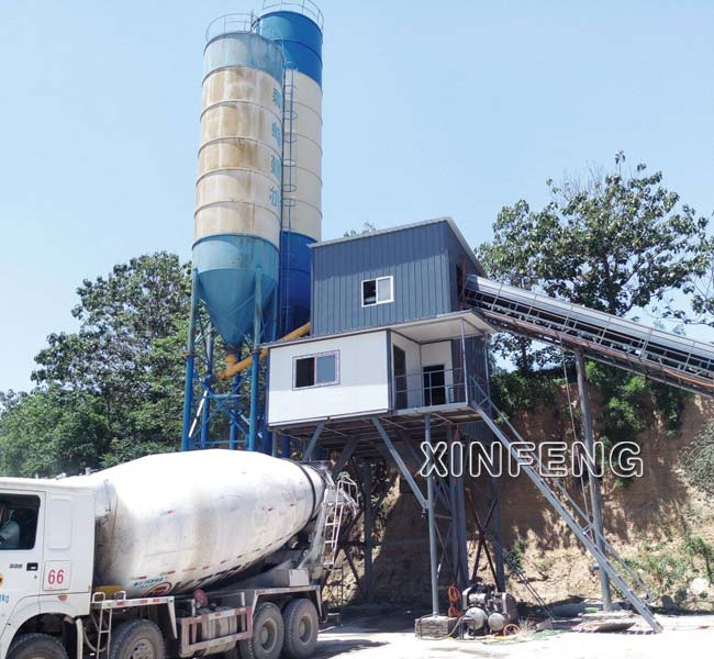 60m3/h Concrete Batching Plant