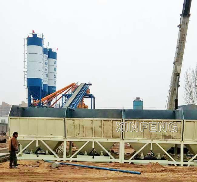 90m3/h Concrete Batching Plant