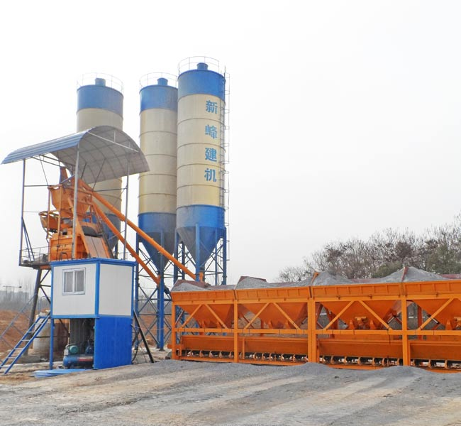 75m3/h Concrete Batching Plant