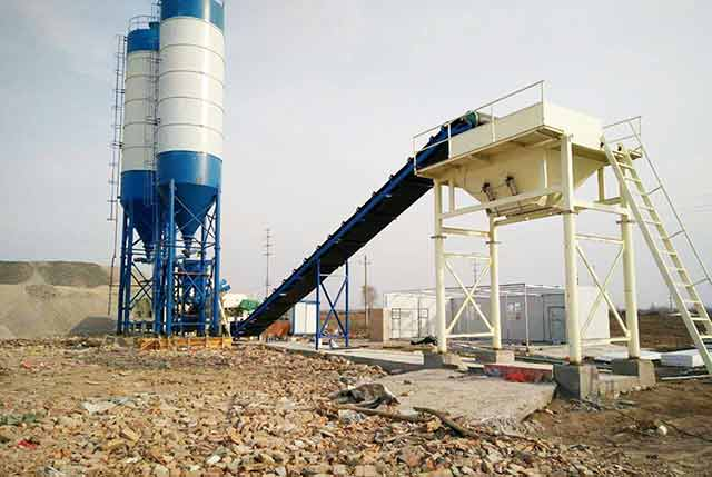 60m3/h Concrete Batching Plant for Malaysia Construction Company