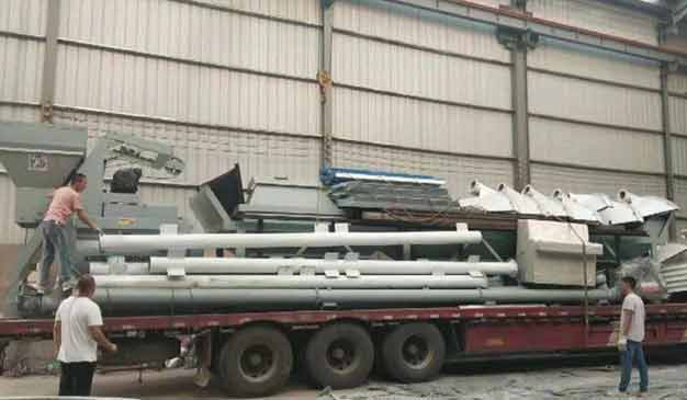 50m3/h Concrete Mixing Plant to shanxi China